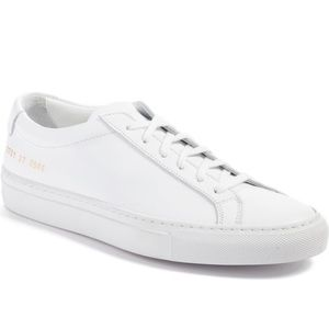 Common projects low top sneaker